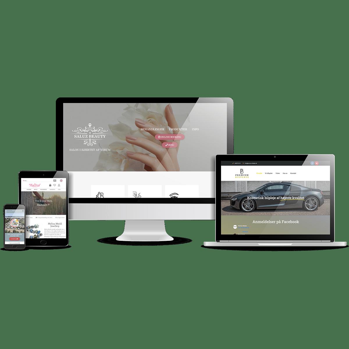 Webdesign - design af hjemmesider